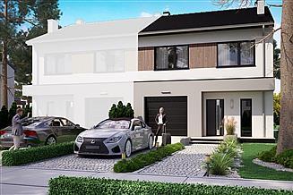 Projekt domu KA124 S