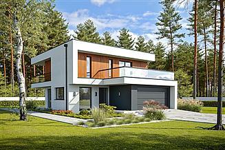 Projekt domu Logiczny D72