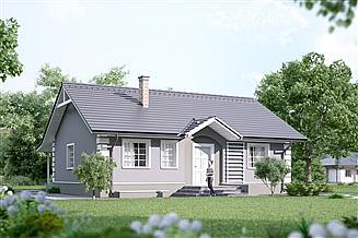 Projekt domu Olga 2