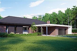 Projekt domu HomeKoncept-New House 718 wariant 1