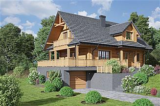 Projekt domu Milicz dw 29