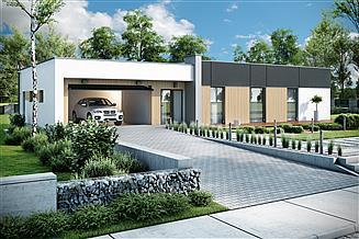 Projekt domu Santa Rosa 2 podpiwniczenie