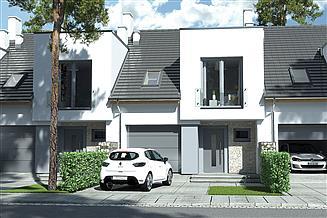 Projekt domu Andrea 3 segmenty