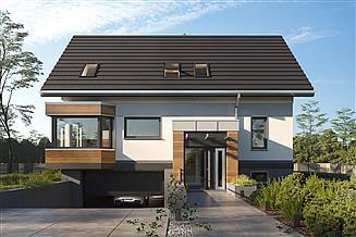 Projekt domu Agaton Polo - murowana - beton komórkowy