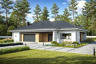 Projekt domu Swobodny D76