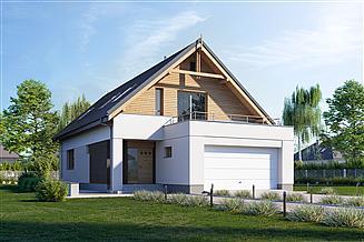 Projekt domu E-203a