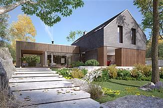 Projekt domu Platan