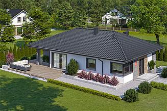 Projekt domu Dom przy Pastelowej 21