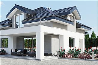 Projekt domu uA154