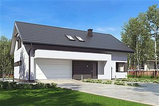 Projekt domu uA156v1