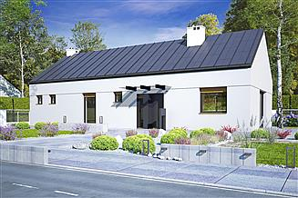 Projekt domu Żurawinka bez garażu [B]