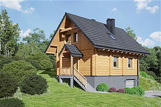 Projekt domu Trzebowo dw 9