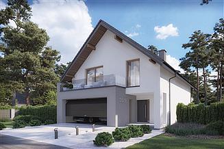 Projekt domu DomStudio 09