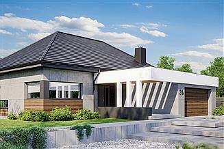 Projekt domu HomeKoncept-31 wariant 1
