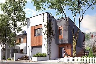 Projekt domu Daglezja W