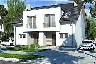 Projekt domu Iskra bliźniak C