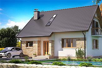 Projekt domu BW-49 wariant 12 bez garażu