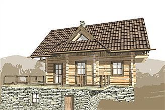 Projekt domu L-119