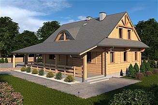 Projekt domu L-188 z piwnicą