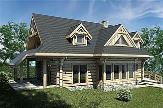 Projekt domu L-217