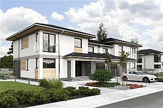 Projekt domu Igor Duolit - murowana – beton komórkowy