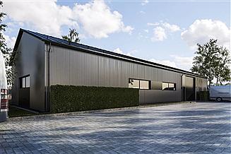 Projekt budynku gospodarczego G379 - Budynek magazynowy