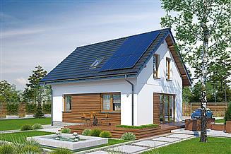 Projekt domu Murator M245b Trafna decyzja - wariant II (etap I)
