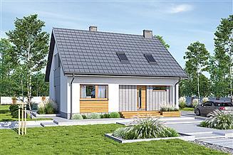 Projekt domu Murator M260 Cenny - wariant I (etap I)