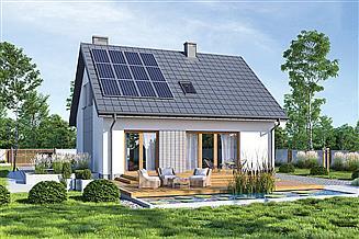 Projekt domu Murator M260a Cenny - wariant III (etap I)