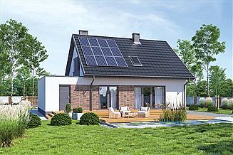 Projekt domu Murator M260aG1 Cenny - wariant II (etap I)