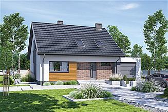 Projekt domu Murator M260G1 Cenny (etap I)