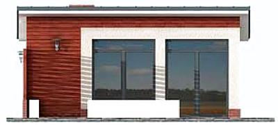 Obud Pl Projekt Domu Kl3 Kuchnia Letnia Bud Gospodarczy